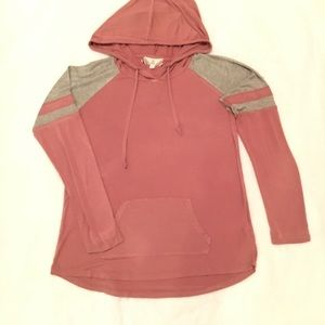 Pink Rose Pullover Hoodie